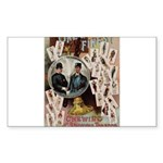 Mandolin Angel / Bull Terrier Sticky Notepad