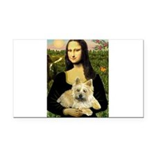 Mona / Cairn T (brin) Rectangle Car Magnet
