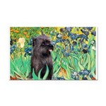 Irises / Cairn (#17) Rectangle Car Magnet