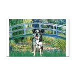 Bridge / Catahoula Leopard Dog Rectangle Car Magne