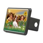 Angels & Cavalier Rectangular Hitch Cover