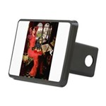Lady & Cavalier (BT) Rectangular Hitch Cover