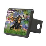 Lilies (2) & Cavalier (BT) Rectangular Hitch Cover