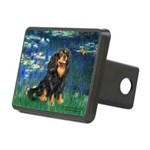 Lilies #5-Cavalier (BT) Rectangular Hitch Cover