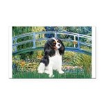 Bridge & Tri Cavalier Rectangle Car Magnet