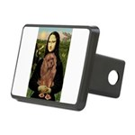 Mona's Ruby Cavalier Rectangular Hitch Cover