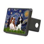 Starry Cavalier Pair Rectangular Hitch Cover