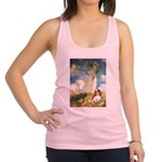Umbrella / Cavalier Racerback Tank Top