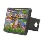 Lilies (2) & Chihuahua Rectangular Hitch Cover