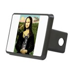 Mona Lisa / Chihuahua Rectangular Hitch Cover