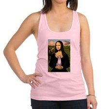 Mona's fawn/red Chihuahua Racerback Tank Top