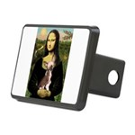 Mona / C Crested(HL) Rectangular Hitch Cover