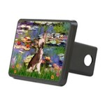 Lilies / C Crested(HL) Rectangular Hitch Cover