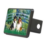 Bridge / Two Collies Rectangular Hitch Cover