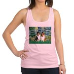 Bridge / Two Collies Racerback Tank Top