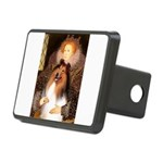 Queen / Collie (tri) Rectangular Hitch Cover