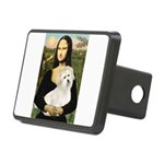 Mona's Coton de Tulear Rectangular Hitch Cover