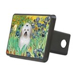 Irises / Coton Rectangular Hitch Cover
