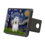 Starry Night Coton de Tulear Rectangular Hitch Cov