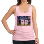 Starry / Coton Pair Racerback Tank Top