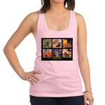 Dachshund Famous Art 1 Racerback Tank Top