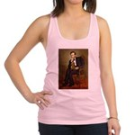 Lincoln's Dachshund Racerback Tank Top