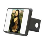 Mona's Dachshund Rectangular Hitch Cover