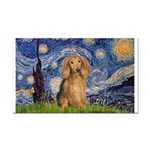 Starry / Doxie (LH-Sable) Rectangle Car Magnet