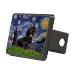 Starry Night Dachshund Rectangular Hitch Cover