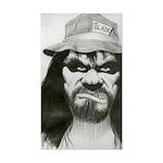 Sunflowres / Dachshund 5.25 x 5.25 Flat Cards