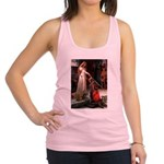 Princess & Doxie Pair Racerback Tank Top