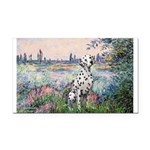 Seine / Dalmatian #1 Rectangle Car Magnet