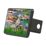 Lilies/ Dalmatian #1 Rectangular Hitch Cover