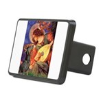 Mandolin Angel & Dobie Rectangular Hitch Cover