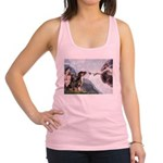 Creation / 2 Dobies Racerback Tank Top