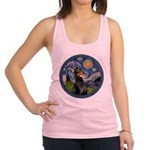 Starry Night Doberman (#1) Racerback Tank Top
