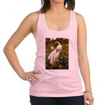 Windflowers / Doberman Racerback Tank Top