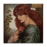 Proserpine by Rossetti Tile Coaster