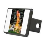 Fairies / English Bulldog Rectangular Hitch Cover