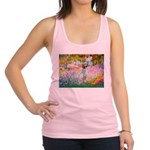 Garden / English Setter Racerback Tank Top