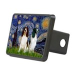 Starry / 2 Eng Springe Rectangular Hitch Cover