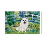 Bridge / Eskimo Spitz #1 Rectangle Car Magnet