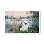 Seine / Eskimo Spitz #1 Rectangle Car Magnet