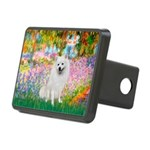 Garden / Eskimo Spitz #1 Rectangular Hitch Cover