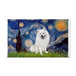 Starry / Eskimo Spitz #1 Rectangle Car Magnet