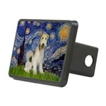 Starry / Fox Terrier (W) Rectangular Hitch Cover