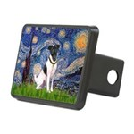 Starry / Fox Terrier (#1) Rectangular Hitch Cover