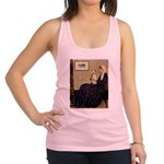 Mom's Wire Fox Terrier Racerback Tank Top
