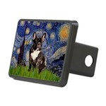 Starry / Fr Bulldog(brin) Rectangular Hitch Cover