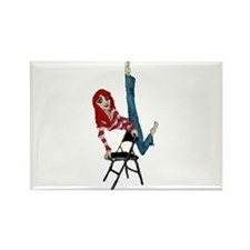 not just for sitting Rectangle Magnet (100 pack)